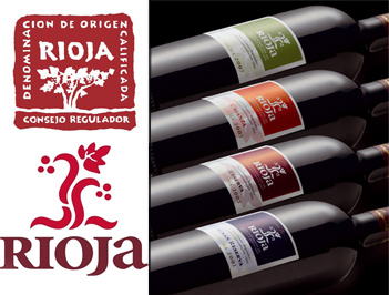 Botellas Rioja